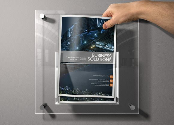 InDesign Business Brochure by Creative Template on Creative Market