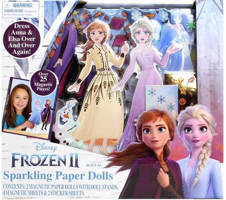 Disney Frozen Anna /& Elsa Magnetic Activity Fun Dress Up Fashion Set NEW!