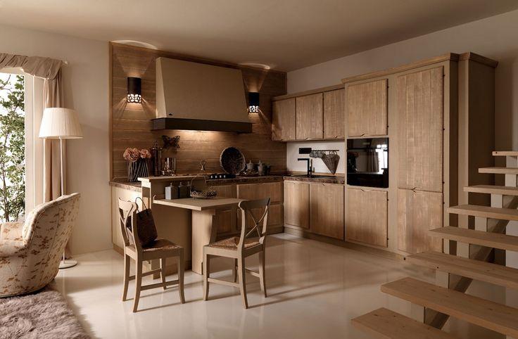 Cucine in muratura: Cucina Crete Senesi [b] da Zappalorto