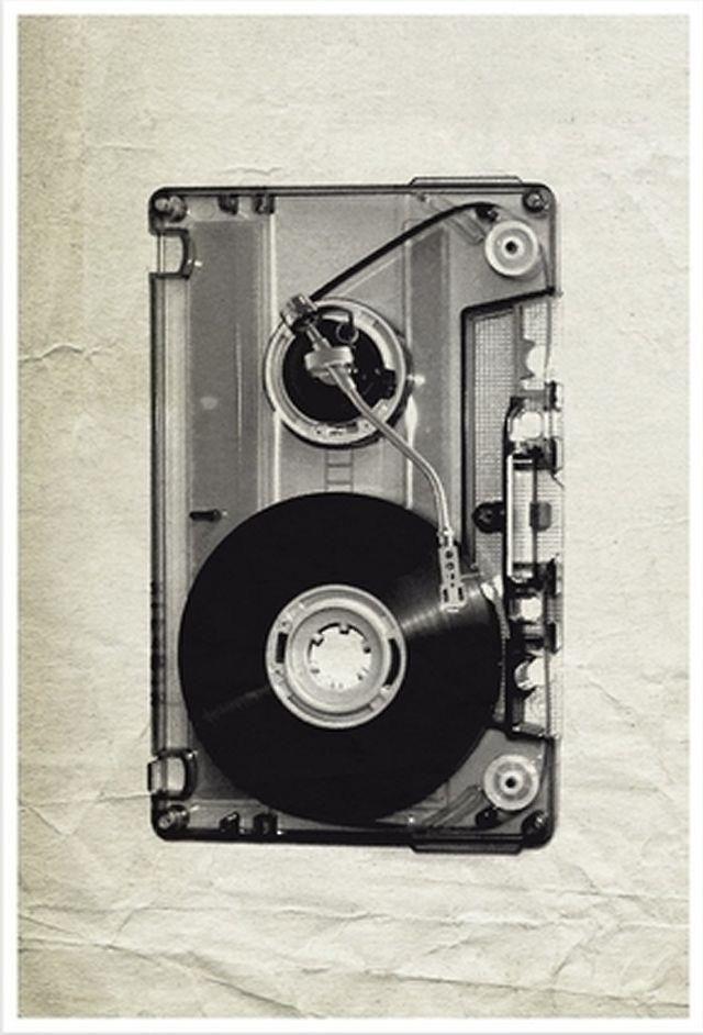 Cassette turntable? #djculture #records #turntable http://www.pinterest.com/TheHitman14/dj-culture-vinyl-fantasy/