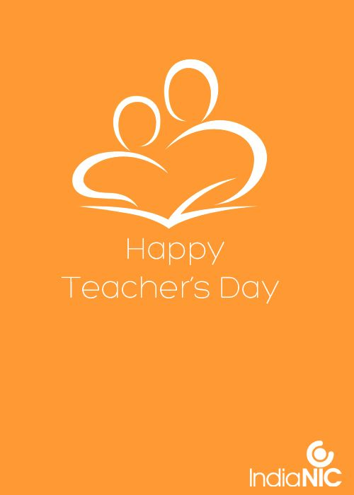 IndiaNIC wishes all Mentors A Happy Teacher's Day