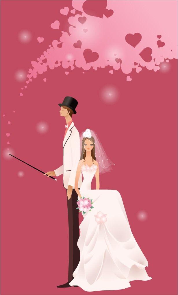 Mis 66 best FREE Wedding Vector