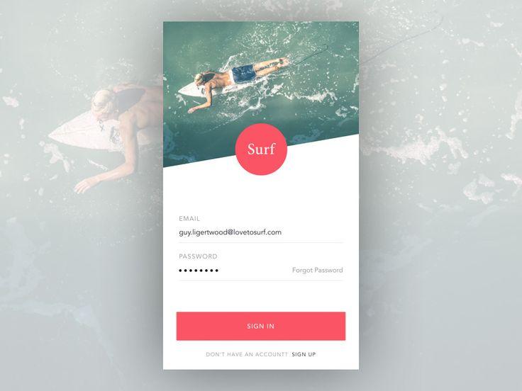 Surf App Login