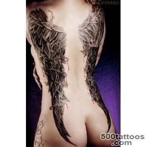 Sexy Tattoos For Women  Wing Tattoos on Back for Women  Tattoo _1