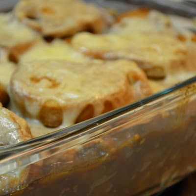 French Onion Soup Casserole 7 Smartpoints | Weight Watchers Recipes