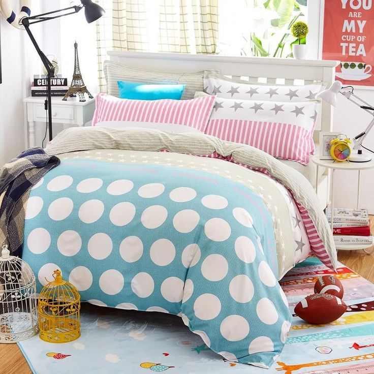 Classic 4 Pc. Bedding Set in 5 Sizes ( Twin, Full, Queen, King, Super King) Duvet Cover Set