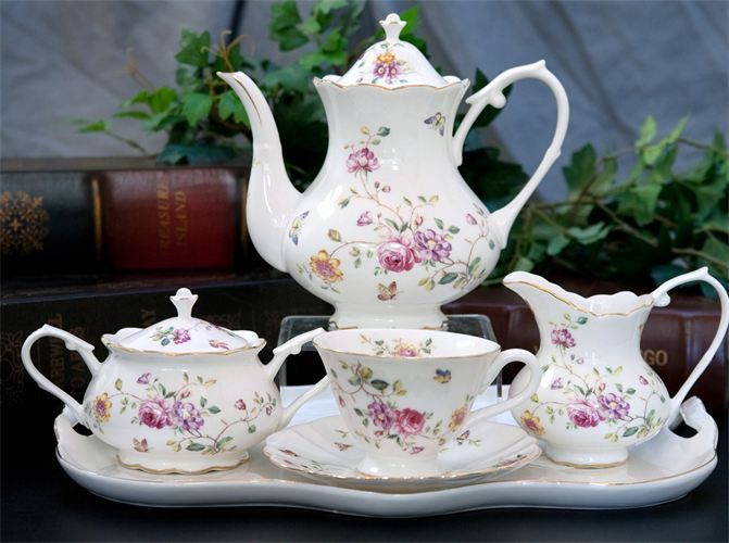 China Set - 20 Unique Ideas for Gift from Bridesmaid to Bride - EverAfterGuide