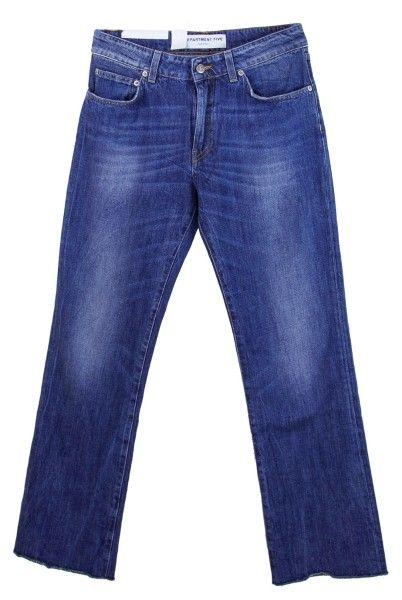 Shop Department 5  Pantaloni: Pantalone jeans Department 5, modello stretto con zampa d'elefante, quattro tasche, vita regolare.    Composizione: 100% cotone.