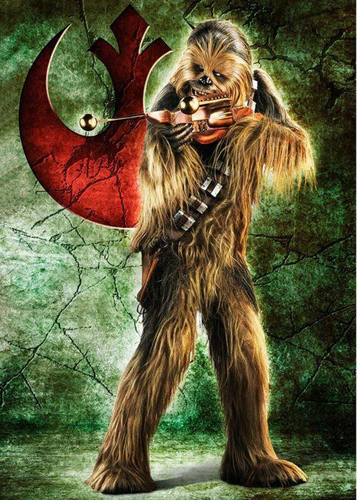 Puzzle RAVENSBURGER 1000 dílků - Star Wars: Chewbacca