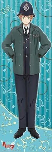 Hetalia Axis Powers shiny poster official UK United kingdom England