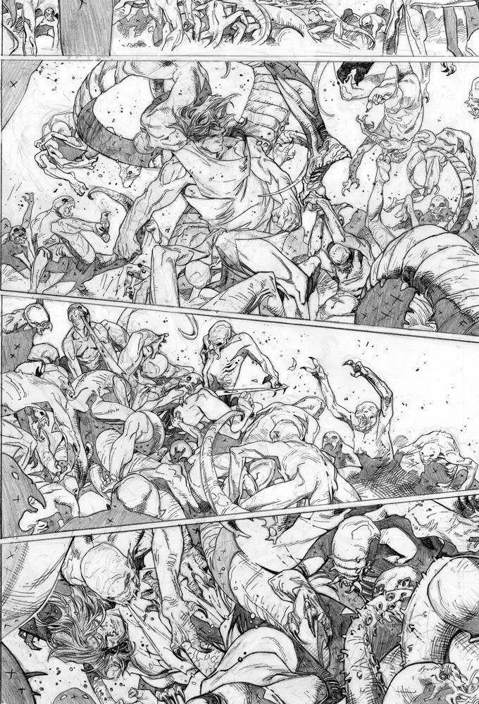 Best Olivier Coipel Images On   Comics Comic Book