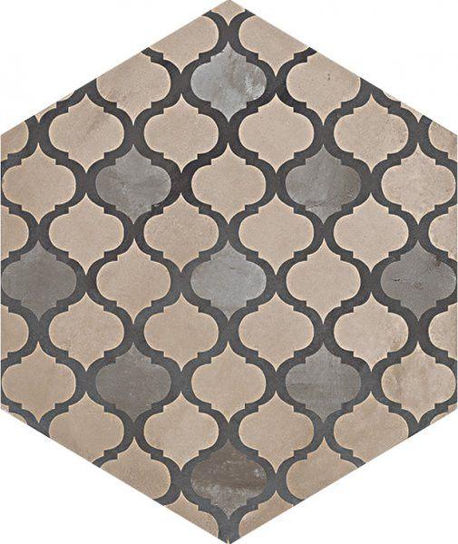 #Marca Corona #Terra Coloniale Esagonale Vers. F 25x21,6 cm 0412 | #Feinsteinzeug #Zement-Effekt #25x21,6 | im Angebot auf #bad39.de 61 Euro/qm | #Fliesen #Keramik #Boden #Badezimmer #Küche #Outdoor