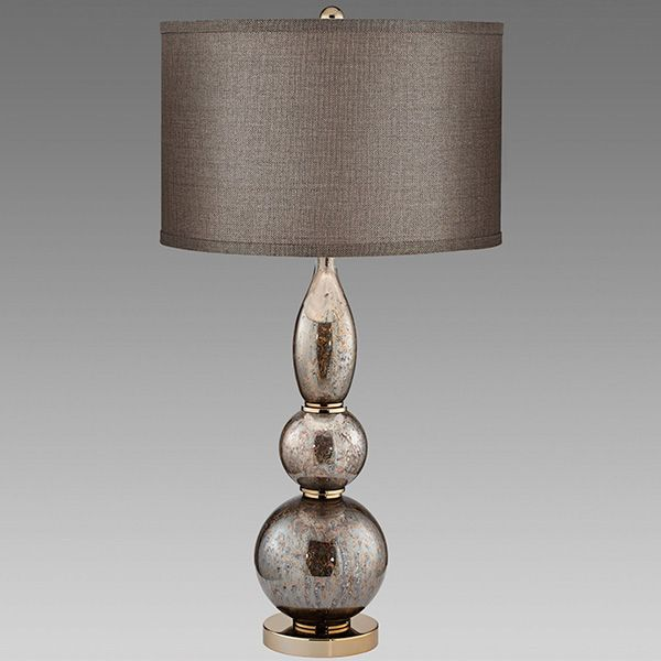 Zyriel Mercury Glass Style Orb Table Lamp Table Lamp Lamp Mercury Glass