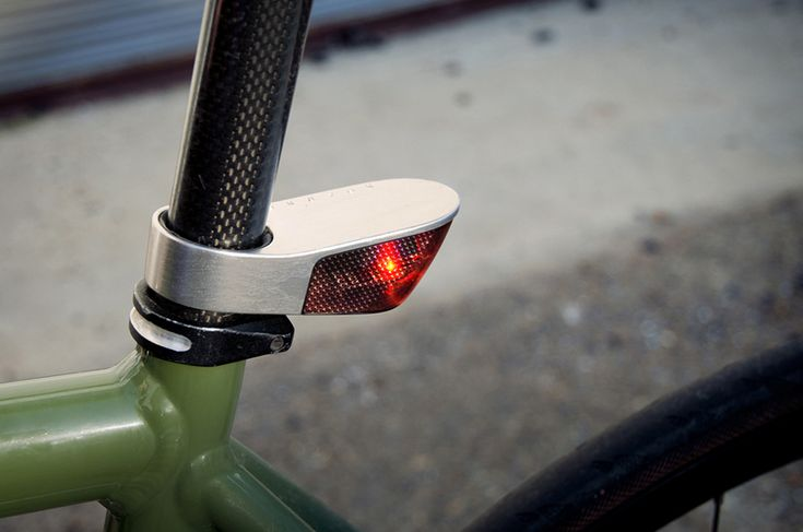 Sparse - aluminum LED bicycle light  http://www.kickstarter.com/projects/sparse/sparse-bicycle-lights