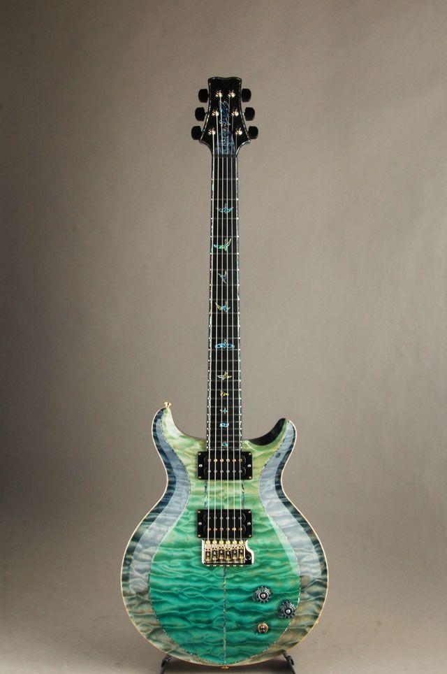 c397597a738 PRS[Paul Reed Smith ポールリードスミス] Private Stock #8035 Santana II Custom  Indigo/Bahama Blue Fade【GUITAR XMAS出展品】 詳細写真
