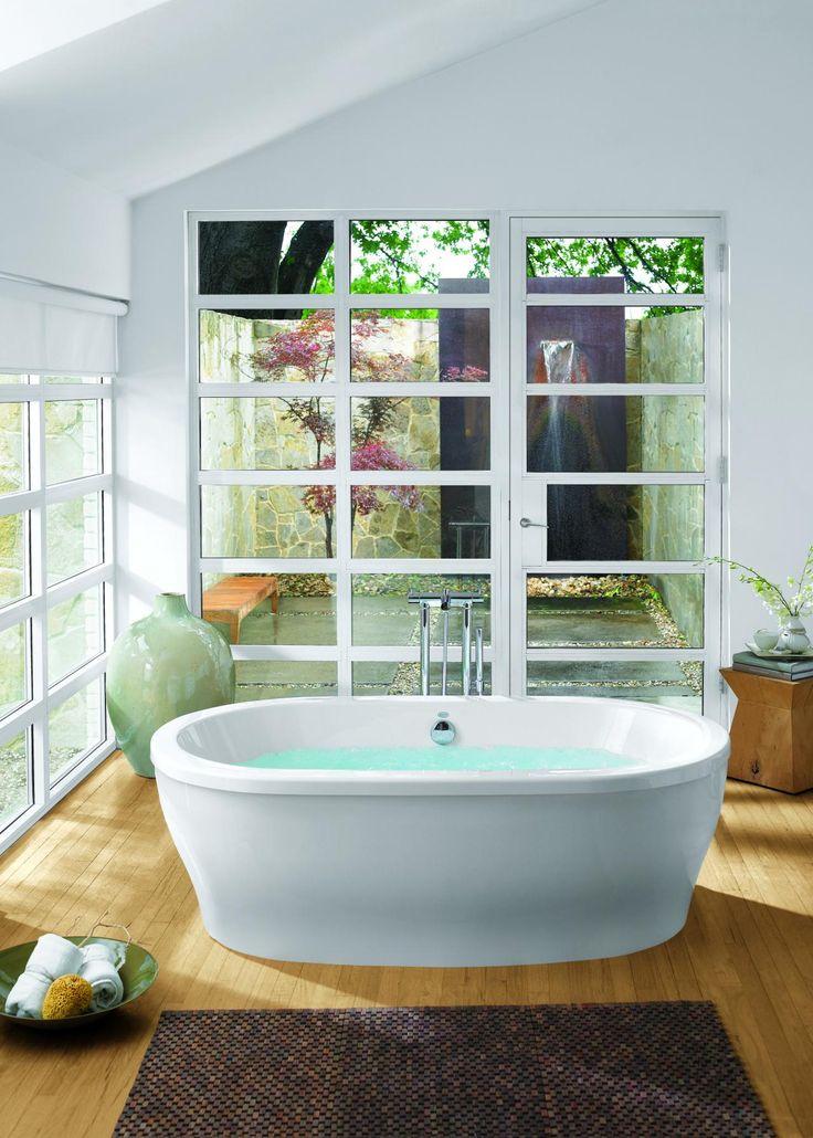 49 best Bathtub Design images on Pinterest   Bathroom, Soaking tubs ...