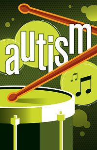 Benefits of drumming for children with autism.