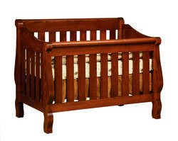 Amish Traditions Furniture - Stage Toddler Bed - Solid Wood Furniture