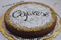 torta caprese al cioccolato fondente ricetta la cucina di rosalba