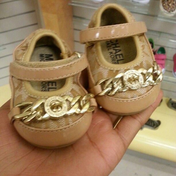 Michael Kors baby shoes tooooooo cuteee