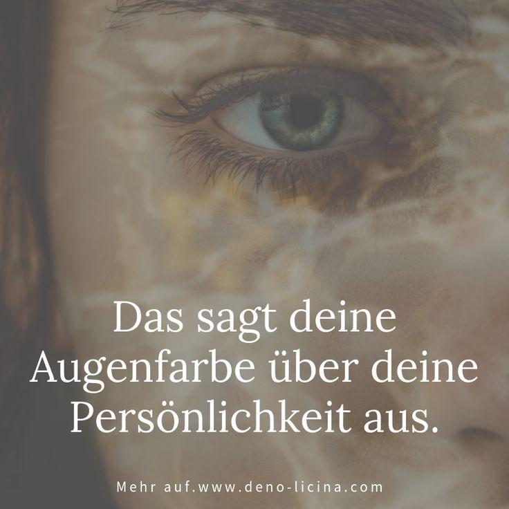 Das sagt deine Augenfarbe über deine Persönlichkeit aus