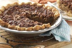 Old-Fashioned Pecan Pie Recipe - No corn syrup version!