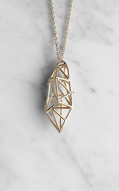 Geo pendant by GoodAfterNine