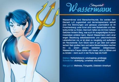 Wassermann-Frau (21. Januar - 19. Februar) | Sternzeichen