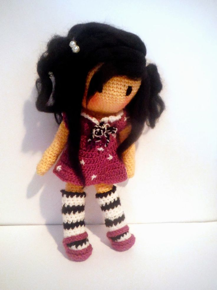 Crochet amigurumi doll. (Inspiration).