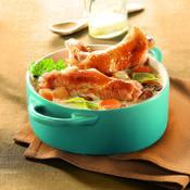 Blanquette de dinde - une recette Terroir - Cuisine
