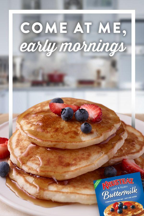 Krusteaz Buttermilk Pancake Buttermilk Pancakes Buttermilk Pancake Mix Pancakes