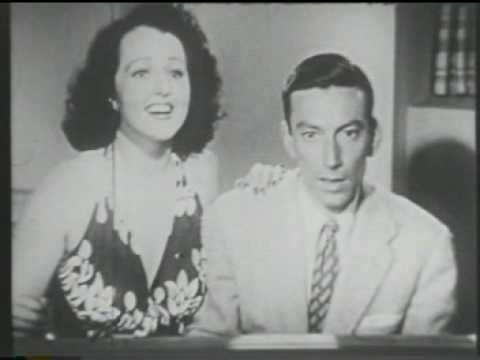 "Hoagy Carmichael & Dorothy Dandridge ""Lazy Bones"" 1941 - YouTube  I wish Dorothy Daindridge was singing as well as dancing, but she sure looks great."