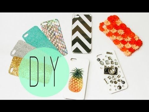 DIY Cell Phone Case – How To Make Cute Iphone 5S Designs - Video tutorial