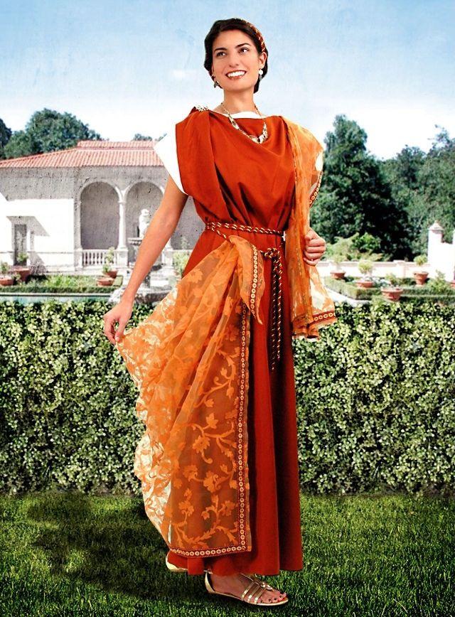 этом готовые женский костюм в культуре древнего рима фото должны идеально