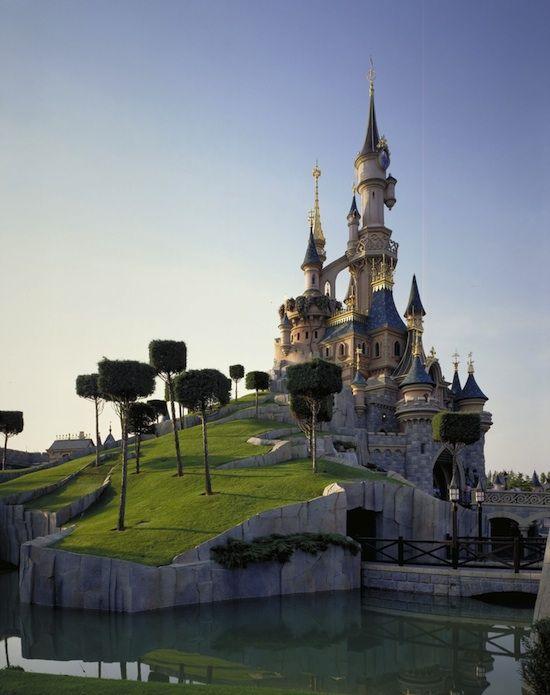 Sleeping Beauty's Castle, after Eyvind Earle (Disney Concept Artist)