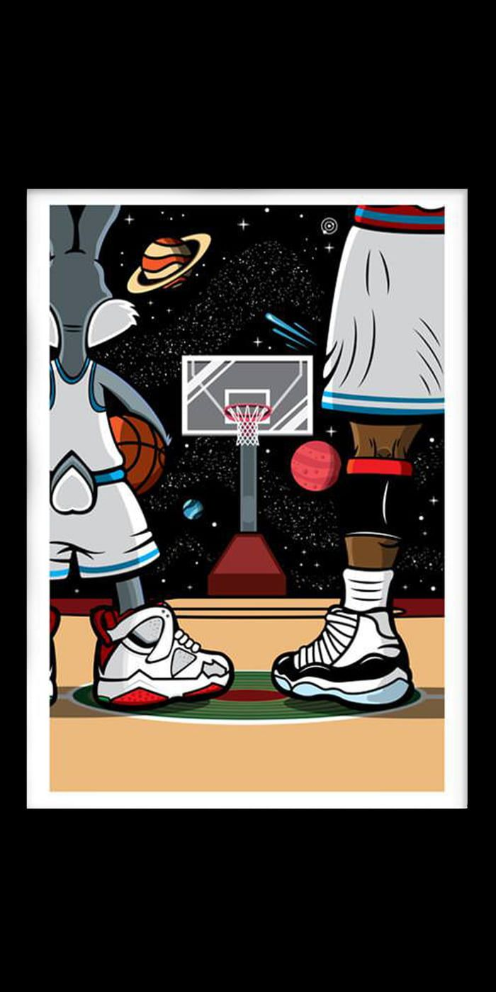 Space Jam 1440x2880 Space Jam Hypebeast Wallpaper Pop Art Wallpaper