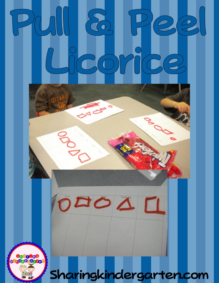 Edible Learning with licorice