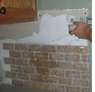 covering kitchen tiles home dzine cover up an existing tiled wall or backsplash 2973