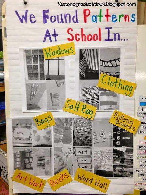 Secondgradealicious: Math Inquiry Outside: Patterning