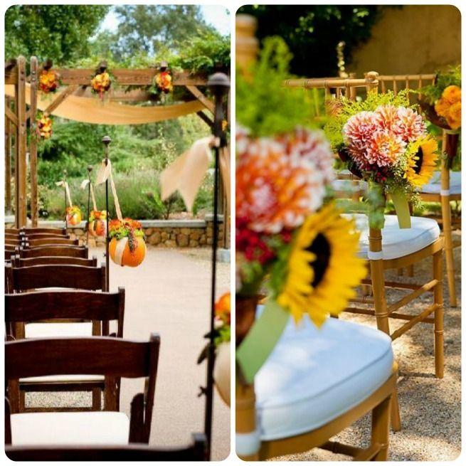 Pinterest Fall Wedding Ideas: Fall Wedding Ceremony Ideas