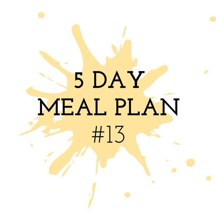 5 Day Meal Plan #13 - Cooking in the Chaos Thermomix Recipes