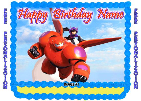 9 best Big Hero 6 Party images on Pinterest Birthdays 6 cake and