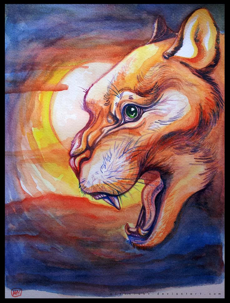 Sun Beast. by AlessiaHV.deviantart.com on @DeviantArt