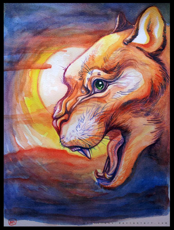 Sun Beast. by AlessiaHV.deviantart.com on @DeviantArt