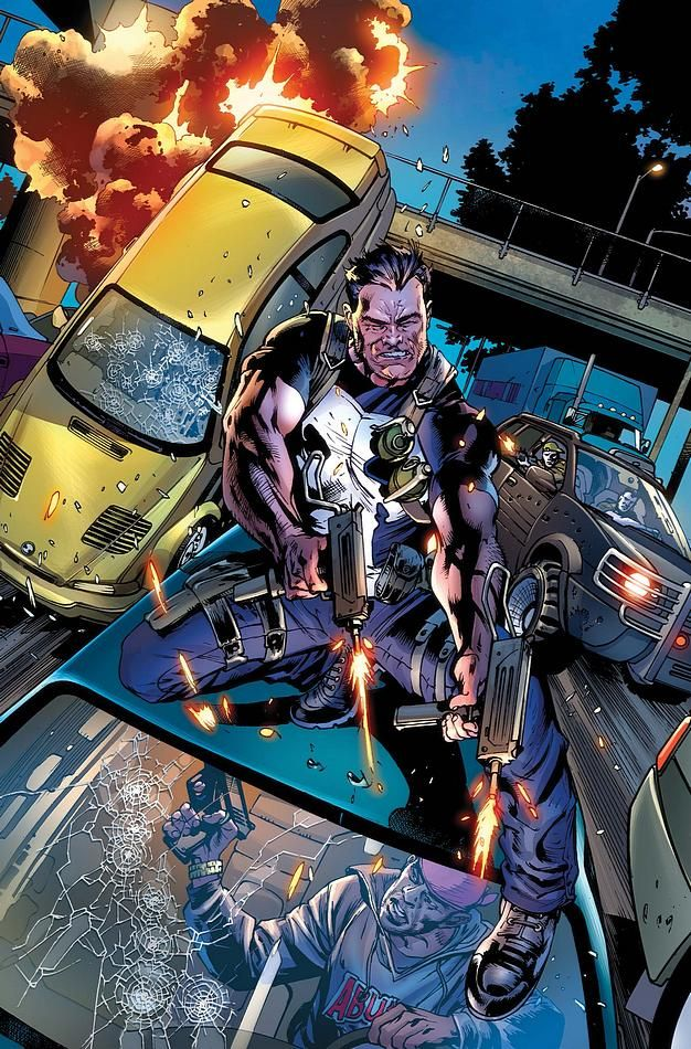 The Punisher by Bryan Hitch