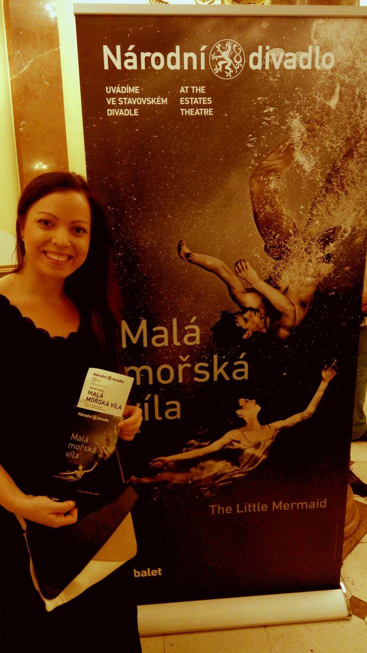 Nazpívala jsem Malou mořskou vílu do baletního představení :-) Kateřina Jindrová Zítková - zpěvačka - www.jindrovka.cz