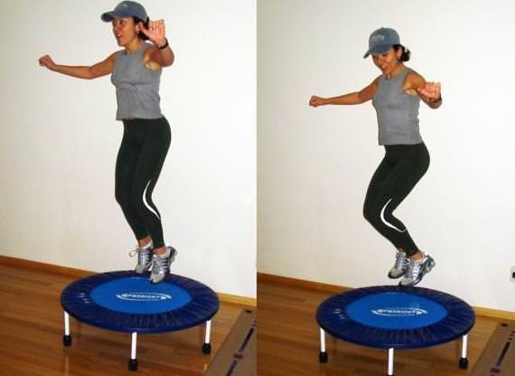 Voce ja deve conhecer o Jump fit exercicio feito sobre um mini-trampolim que ha anos conquista cada vez mais adeptos Confira aqui os beneficios que o Jump Fit proporciona e comece a pular - Veja mais em: http://www.maisequilibrio.com.br/fitness/pule-e-queime-muitas-calorias-2373.html?pinterest-mat