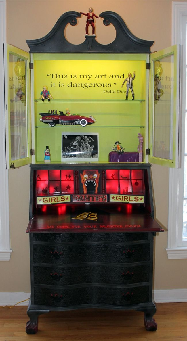 367 best images about horror man cave on pinterest for Funky bedroom furniture