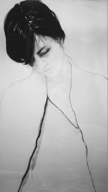 anouk griffioen: Art Anouk, Inspiration, Anoukgriffioen, Self Portraits, Anouk Griffioen, Art Sketches, Pencil Art, Fashion Illustrations, Drawing