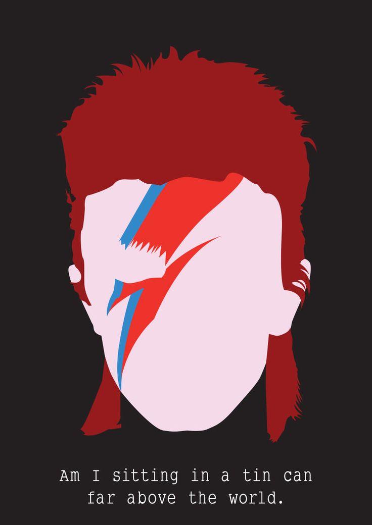 David Bowie by Siwerski